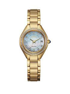 citizen-citizen-ladies-eco-drive-gold-stainless-steel-crystal-bezel-mop-dial-watch