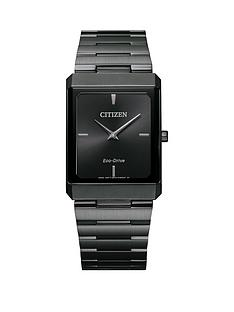 citizen-citizen-eco-drive-stiletto-grey-ip-stainless-steel-black-dial-watch