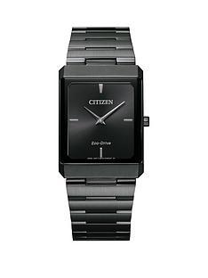 citizen-citizen-eco-drive-stiletto-grey-ip-stainless-steel-black-dial-watch