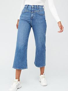 calvin-klein-jeans-super-high-rise-wide-leg-crop-jeans-blue
