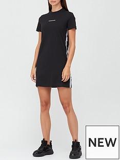 calvin-klein-jeans-mesh-tapenbspt-shirt-dress--black