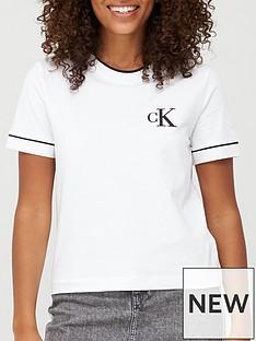 calvin-klein-jeans-cknbspembroidery-tipping-t-shirtnbsp--bright-white