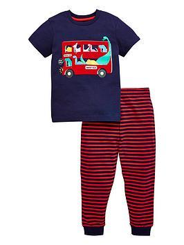 v-by-very-boys-dinosaur-bus-pjnbspset-navy