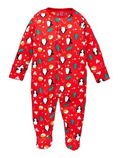 v-by-very-baby-christmas-pyjama-all-in-one-multi