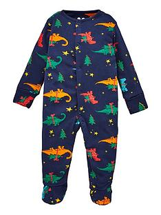 v-by-very-baby-christmas-dino-pyjamas-all-in-one-multi