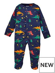 v-by-very-baby-christmas-dino-pyjamas-all-in-one-multi