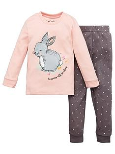 v-by-very-girls-bunny-snuggle-fit-pj-set-pink