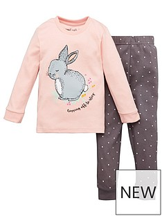 v-by-very-girls-bunny-snuggle-fit-pj-set-pink