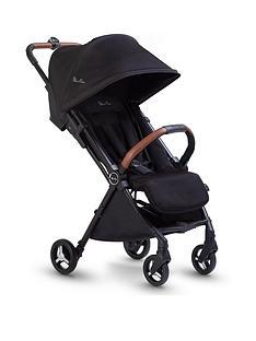 silver-cross-jet-stroller-black