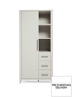 mamas-papas-melfi-storage-wardrobe-grey
