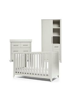 mamas-papas-melfi-cot-bed-dresser-changer-and-storage-wardrobe-grey