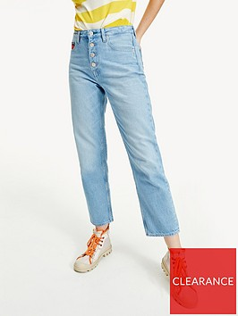 tommy-jeans-harper-high-rise-straight-ankle-jeans-blue