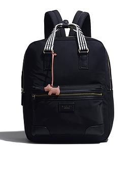 radley-bloomsbury-large-zip-top-backpack-black