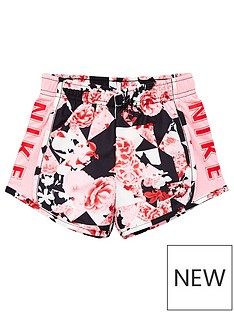 nike-younger-girl-tokyo-floral-tempo-shorts-pink