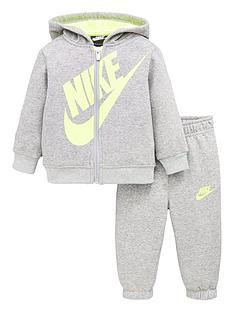 nike-infantnbspboys-sueded-fleece-futura-jogger-set-grey