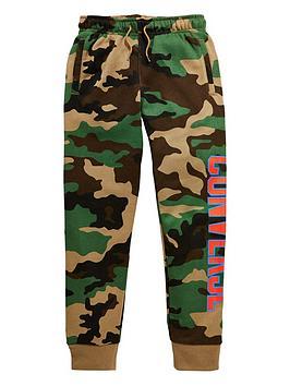 Converse Older Kids Collegiate Camo Fleece Pant - Camouflage