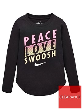 nike-younger-girls-peace-love-swoosh-long-sleevenbsptee-black