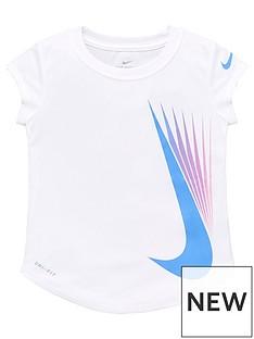 nike-younger-girl-7-point-swoosh-short-sleevenbspt-shirt-white