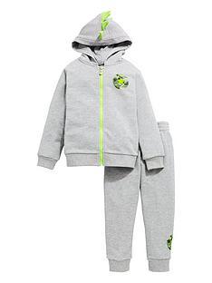 converse-childrensnbspdino-french-terry-full-zip-jognbspset-grey