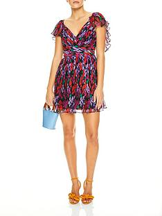talulah-cosmo-floral-print-mini-dress-redpurple