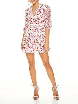 talulah-dance-and-romance-red-daisy-embroidered-crochet-mini-dress-whitered