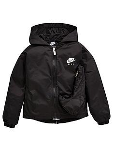 nike-air-younger-girls-lightweight-jacket-black