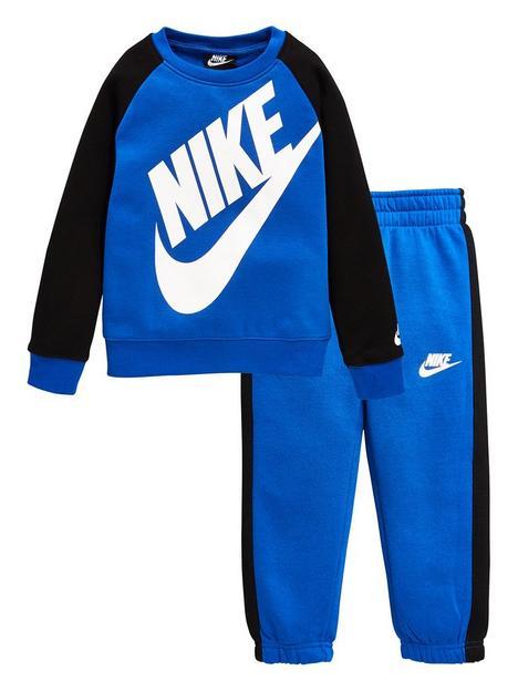 nike-younger-boys-oversized-futura-crew-set-blue