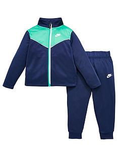nike-infant-boys-2-tone-zipper-tricot-set-navy
