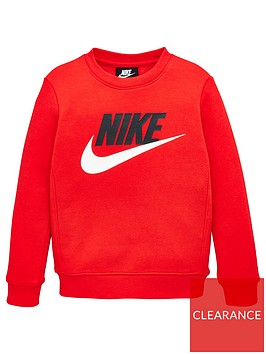 nike-younger-boys-club-hbr-crew-red