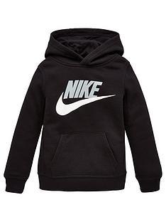 nike-younger-boys-sportswearnbspclub-hbrnbsppullover-hoodie-black