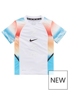 nike-younger-boys-instacool-short-sleevenbsptee-white
