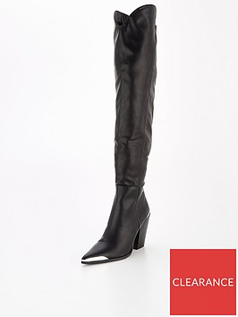 public-desire-honour-knee-high-boot-black