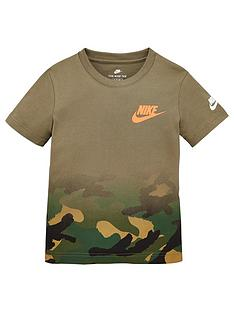 nike-younger-boys-textured-camo-midway-short-sleevenbsptee-olive