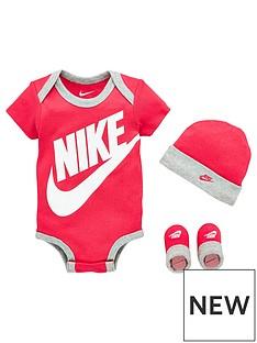 nike-younger-futura-logo-hatnbspbodysuit-andnbspbooties-3-piece-set-pink