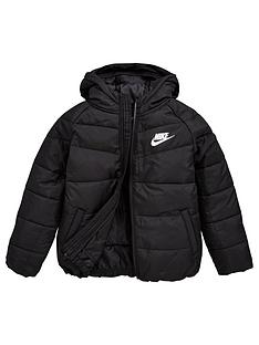 nike-younger-childrens-nsw-filled-jacket-black