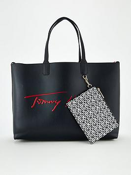 tommy-hilfiger-iconic-signature-totenbsp--navy
