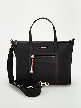 tommy-hilfiger-nylon-satchel-black