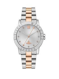 vivienne-westwood-vivienne-westwood-warwick-bi-colour-white-dial-bracelet-watch