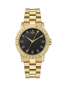 vivienne-westwood-vivienne-westwood-warwick-gold-coloured-black-dial-bracelet-watch