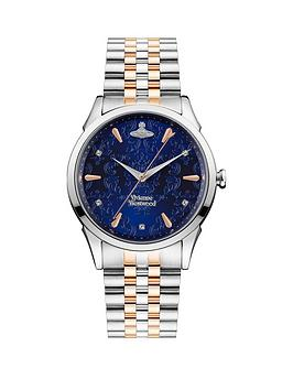 vivienne-westwood-vivienne-westwood-the-wallace-bicolour-stainless-steel-bracelet-navy-dial-watch