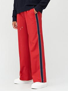 tommy-hilfiger-icon-bistretch-wool-flared-pants-red