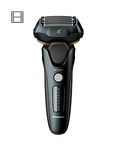 panasonic-es-lv97-wet-amp-dry-electric-5-blade-shaver-with-automatic-cleaning-amp-charging-stand