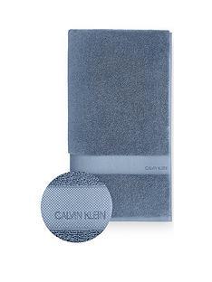 calvin-klein-tracy-100-cotton-towel-range--nbspblue
