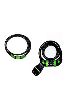 sport-direct-combination-cable-lock-set