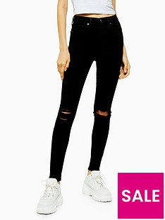 topshop-tallnbsparizona-rip-jamie-jeans-black