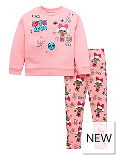 lol-surprise-girls-lolnbspsurprise-bffs-4-eva-sweatshirt-amp-legging-outfit-pink