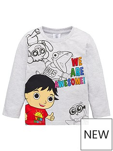 ryans-world-boy-ryans-world-we-are-awesome-long-sleeve-t-shirt