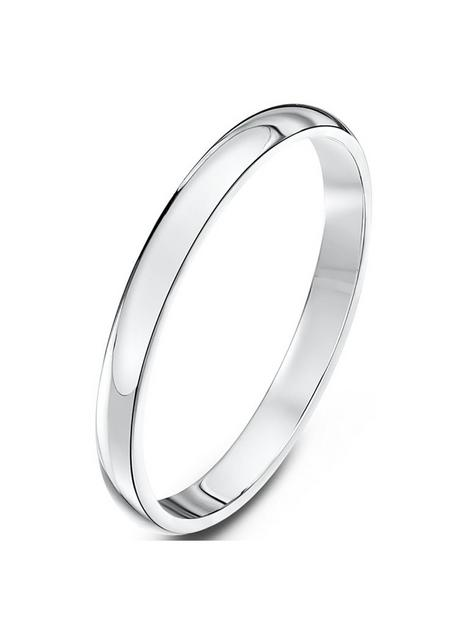 love-gold-9ct-white-gold-2mm-heavy-d-shape-band