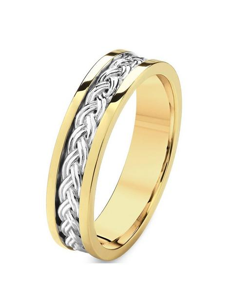 love-gold-9ct-white-gold-and-yellow-gold-pattern-wedding-band-5mm