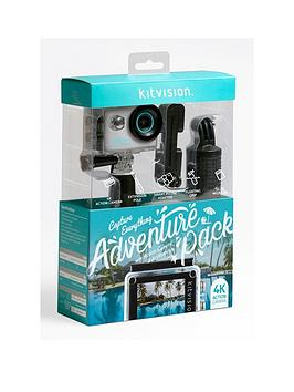 Kitvision Kitvision Adventure Pack With 4K Action Camera And Accessories